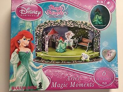 The Little Mermaid Playset with figurine Magic Moments Princess Ariel Disney