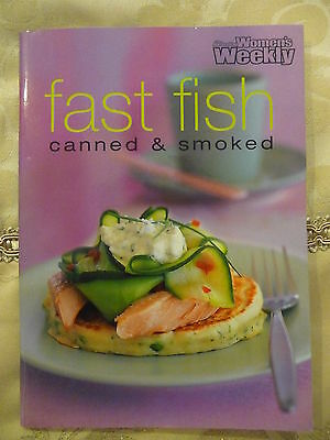 Womens Weekly mini cookbook FAST FISH Canned and Smoked EUC