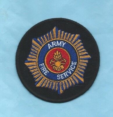 (Very Rare) ARMY FIRE SERVICE RAE Patch