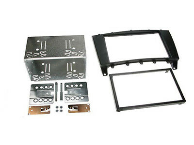 C2/Autoleads 23MB03|In Car Double DIN Facia KIT|Fits Mercedes C-Class[W203] LC [