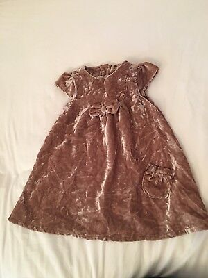 Next 12-18 Months Baby Girls Christmas Party Dress