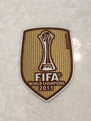 2011 UEFA FIFA World Champions League Badge Patch For Barcelona Soccer Jersey
