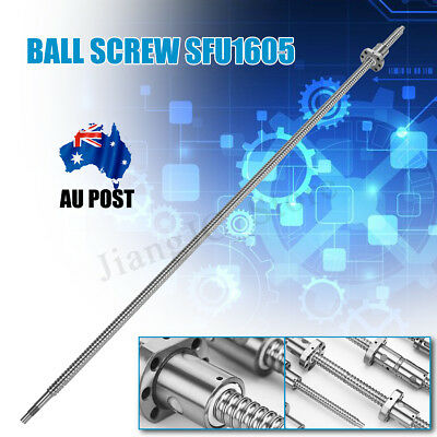 Ball Screw 1605 SFU1605 L1000mm End Machined Ballscrew + Single Ballnut For CNC