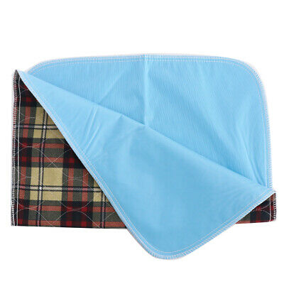 Washable Reusable Waterproof Absorb Pad Incontinence Bedwetting Pee Underpad