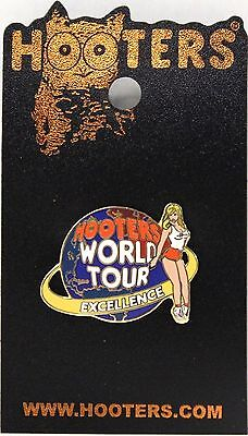 Hooters Franchise Lapel Pin Only Given To Franchise Owners World Tour Excellence