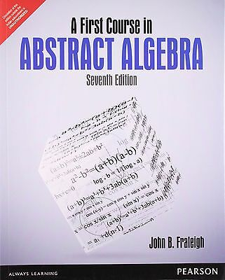 A first course in abstract algebra by john b fraleigh 1745 new a first course in abstract algebra by john b fraleigh 7th intl ed fandeluxe Gallery