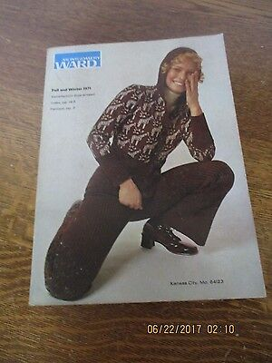 Vintage Montgomery Wards Catalog Fall and Winter 1971 Retail Store Advertising