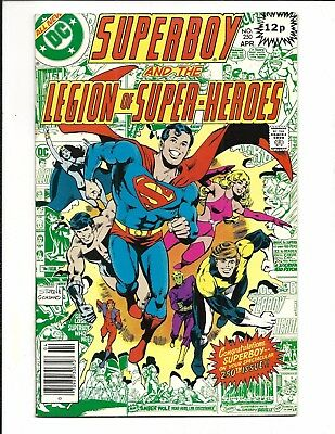 SUPERBOY and the LEGION of SUPER-HEROES # 250 (APR 1979), VF