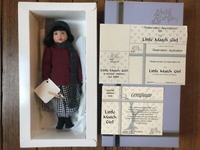 """Kish and Company """"Little Match Girl"""" special edition 1995 12 in NRFB"""