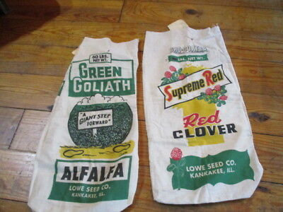 Superior Red --Red Clover And Alfalfa Gro-Coated Seed Bags