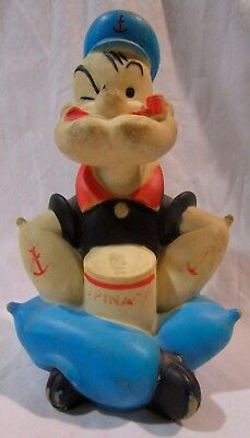 Vintage rubber Popeye figure -- Dated 1959