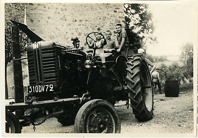 """TRACTEUR FARMALL 1963"" Photo originale"