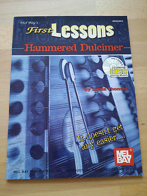 First Lessons Hammered Dulcimer Buch mit CD