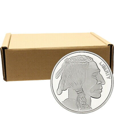 No Date Buffalo Medallion 1oz .999 Silver--500pc
