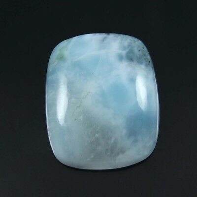 27.20 cts Natural Larimar Fancy Loose Beautiful Cabochon Gemstone For Jewelry