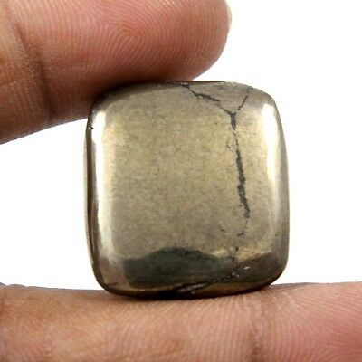 41.10 cts 100% Natural Awsome Pyrite Apache Gold Cabochon Octagon Loose Gemstone