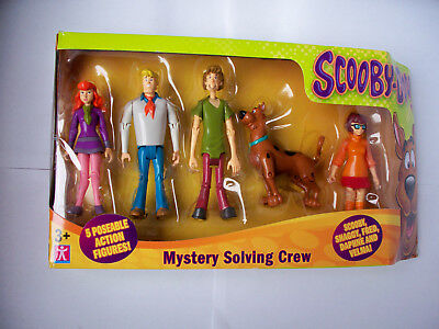 Scooby-doo! Mystery Solving Crew FIGURE COLLECTOR SERIES OVP
