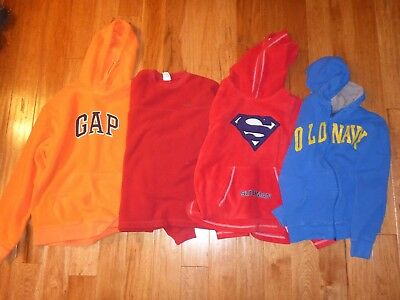 Mens Size Small / Kids LargeLot Of4 Sweatshirts - Old Navy, The Gap, Superman