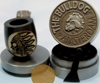 Chief Payo Wood pipe hand Carved smoking Tobacco Tagua Pot herb grinder H2