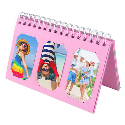 Scrapbooking Album For Fuji Instax Mini Prints Holds 60 Photos Pink New!