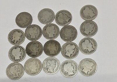 Barber Dime $5 Roll (50 Pieces) – Good & Better