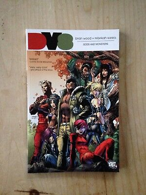 NEW DV8 Gods And Monsters DC Graphic Novel.