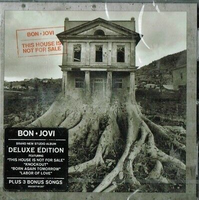 BON JOVI - This house is not for sale (Deluxe edition / Brand new & sealed)