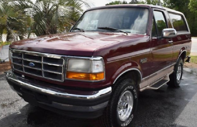 1996 Ford Bronco Eddie Bauer 1996 Ford Bronco Eddie Bauer - Mint Condition