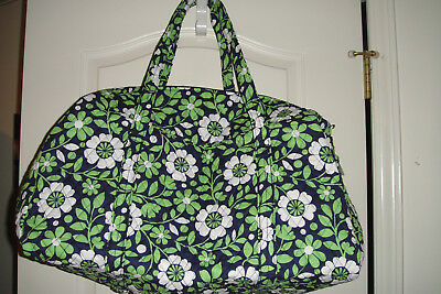 """Vera Bradley Large Duffel Bag """"lucky You"""" Nwt  Retired Pattern. $85 Retail"""