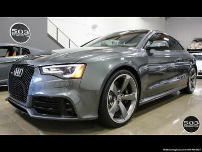 2015 Audi Other 4.2 quattro; One Owner w/ 10k Miles! 2015 Audi RS 5 4.2 quattro; One Owner w/ 10k Miles! Automatic 2-Door Coupe