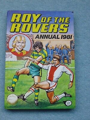 Roy of the Rovers Annual 1981.Hardback. English