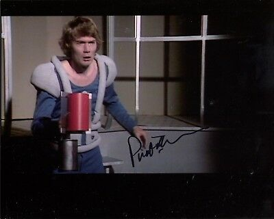 Actor Prentis Hancock signed DOCTOR WHO 8x10 inch photo