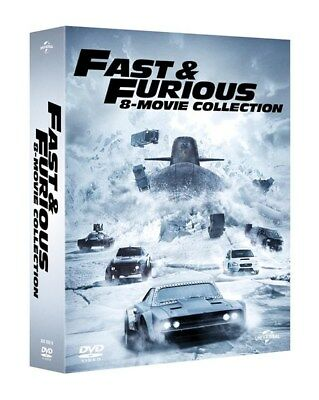 Fast And Furious 1-8 Complete Movie Collection Dvd Box Set New And Sealed The