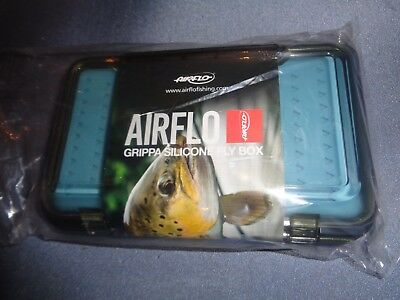 BRAND NEW Airflo Grippa Silicone Shatter Resistant Slim-Line Fly Fishing Fly Box