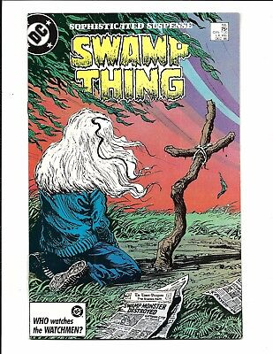 Swamp Thing # 55 (Dec 1986), Nm