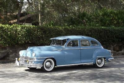 1946 Chrysler Windsor Sedan 1946 Chrysler Windsor Limo Museum Car 100% Original Must See This Time Capsule !