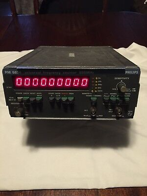 Philips Pm 6674 Frequency Counter