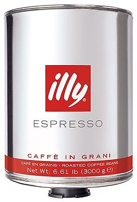 illy coffee beans 6kg box - 2020 Stock -