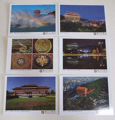 Six Postcards of the Iconic Landmark, The Grand Hotel in Taipei, Taiwan - 2013
