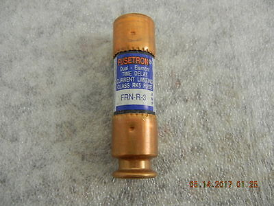 Bussmann/FUSETRON Fuses, FRN-R-3, Dual Element, Time Delay, NEW