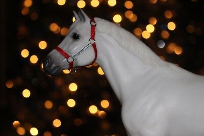 LIMITED QUANTITY Traiditonal Breyer Horse Red and Sparkly Halter