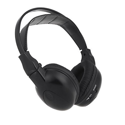 IR Universal Infrared Wireless Foldable Headphones for In-Car DVD Player Headres