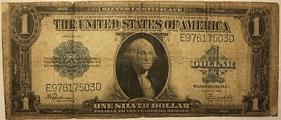 1 Dollar, Large Note, Silver Certificate, Series of 1923.