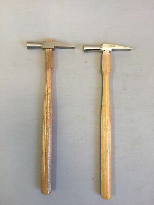 Two (2) WATCHMAKERS JEWELERS Small HAMMER Made In France