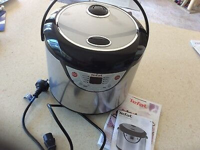 Tefal  8 in 1 cooker, electric, 10 cup, Model RK302E70,