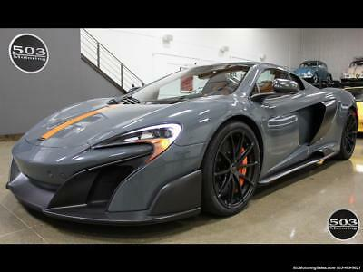 2016 McLaren Other Perfectly Specced Chicane Gray One Owner! 2016 McLaren 675LT Spider; Perfectly Specced Chicane Gray One Owner! Automatic 2
