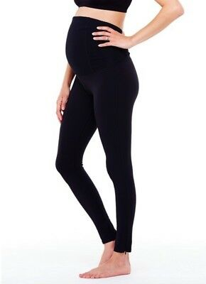 NEW Ingrid & Isabel MATERNITY ACTIVE FITNESS PANT WITH CROSSOVER PANEL-SZ M