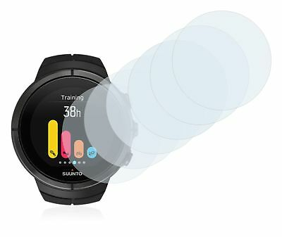 Suunto Spartan Smart Watch, 6x Transparent ULTRA Clear Screen Protector