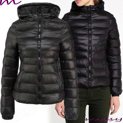 new design classic shoes factory outlets NEW WOMENS LADIES Quilted Winter Coat Puffer Hooded Jacket ...