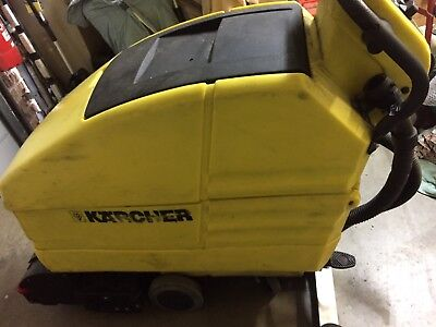 Karcher BR 550 BAT Floor Scrubber Vacuumed